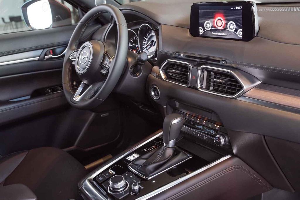 Mazda CX-8 2019 vs Hyundai Santa Fe 2019: Ve hien lanh doi dau ca tinh hinh anh 11