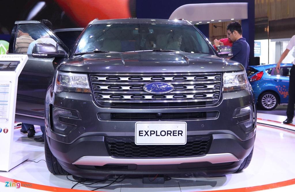 so sanh Ford Explorer va Hyundai Palisade,  suv co lon anh 5