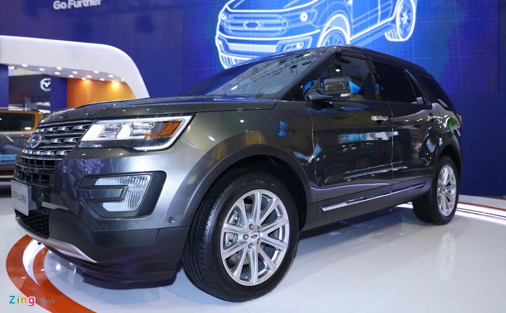 so sanh Ford Explorer va Hyundai Palisade,  suv co lon anh 3