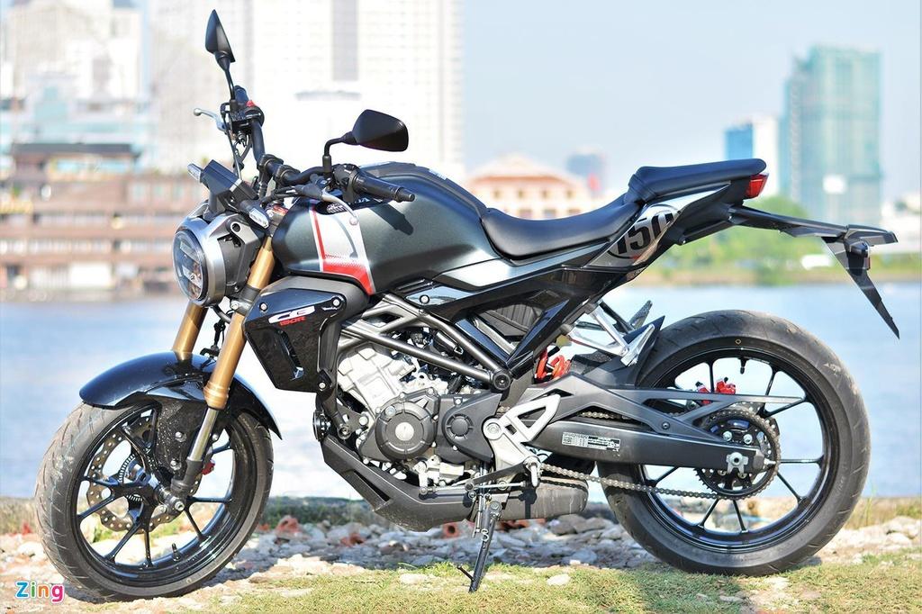 Mot so mau naked-bike 150 cc vua tui tien tai Viet Nam hinh anh 6