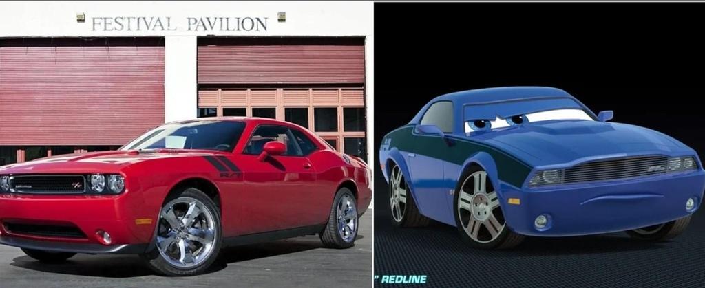 Nhan vat trong phim hoat hinh Cars thuc chat la nhung mau xe nao? hinh anh 7