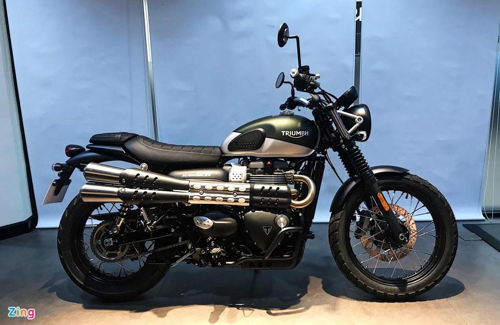 Chi tiet Triumph Street Scrambler 2019 - moto co dien hop chay pho hinh anh 8