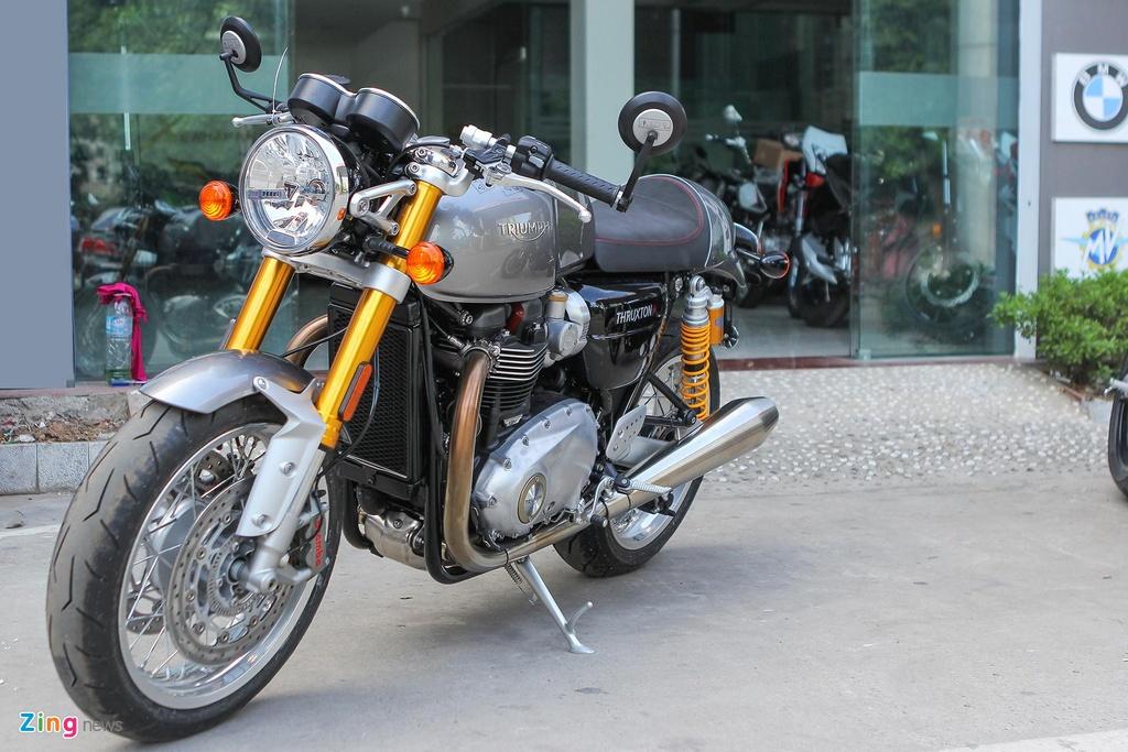 Ducati Scrambler Cafe Racer va Triumph Thruxton, 'cafe' nao dac hon? hinh anh 2