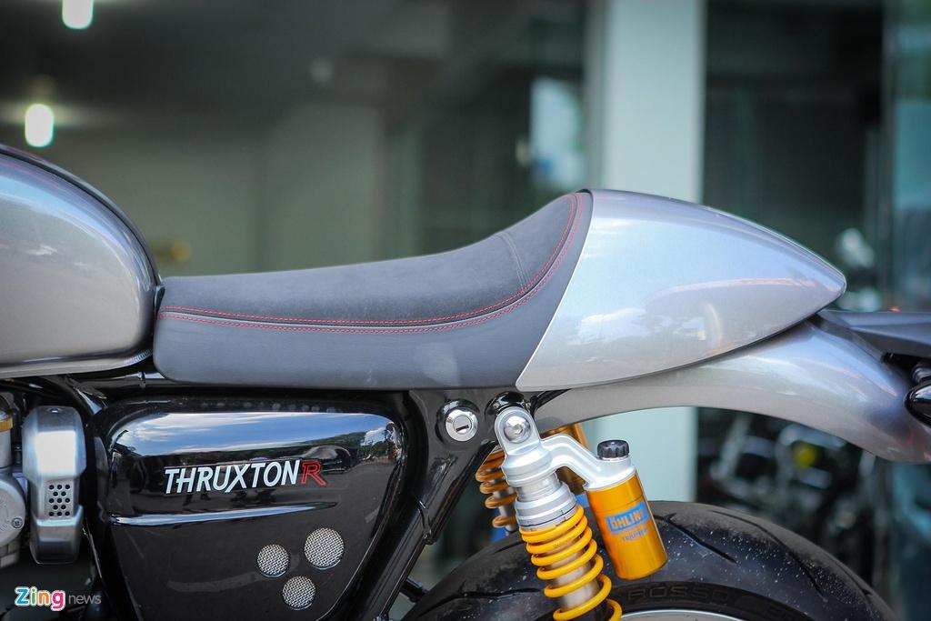 Ducati Scrambler Cafe Racer va Triumph Thruxton, 'cafe' nao dac hon? hinh anh 11