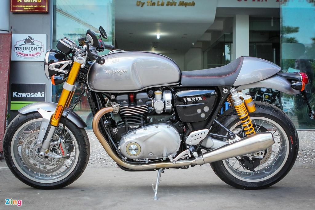Ducati Scrambler Cafe Racer va Triumph Thruxton, 'cafe' nao dac hon? hinh anh 7
