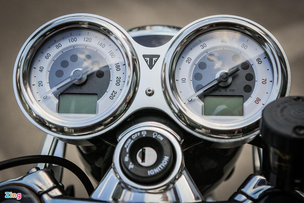 Ducati Scrambler Cafe Racer va Triumph Thruxton, 'cafe' nao dac hon? hinh anh 5
