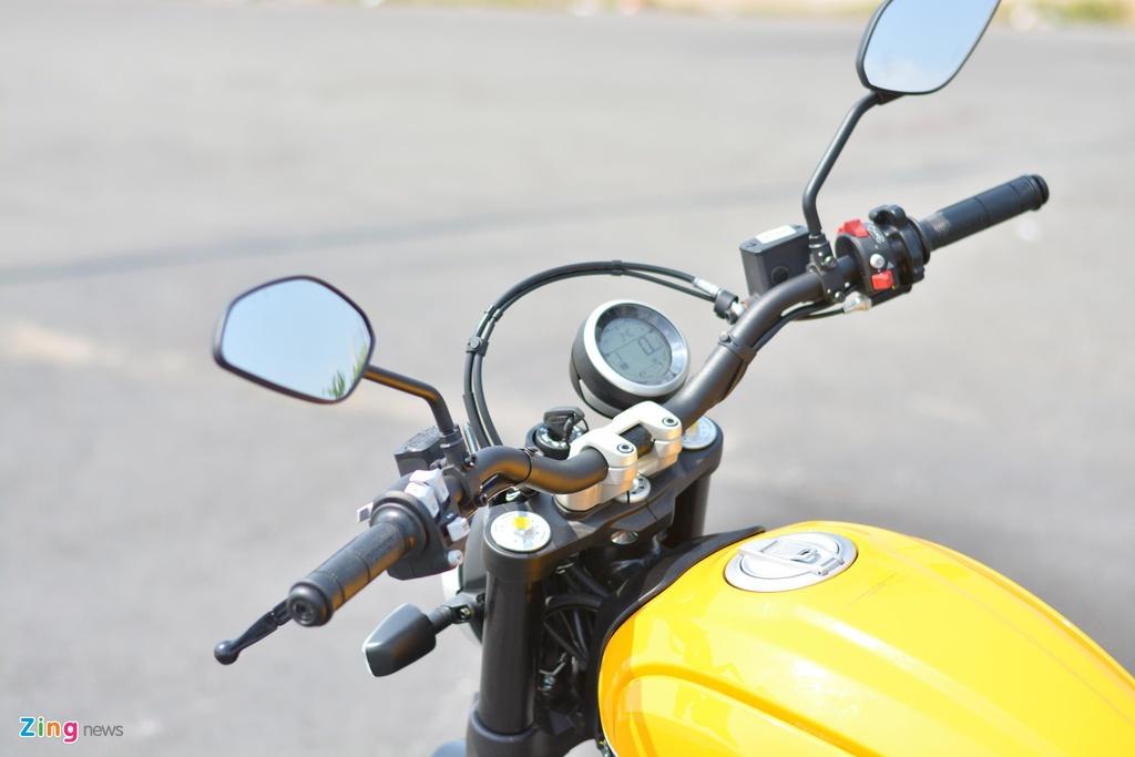 Mua scrambler 'hang hieu' chay pho, chon Ducati hay Triumph? hinh anh 4