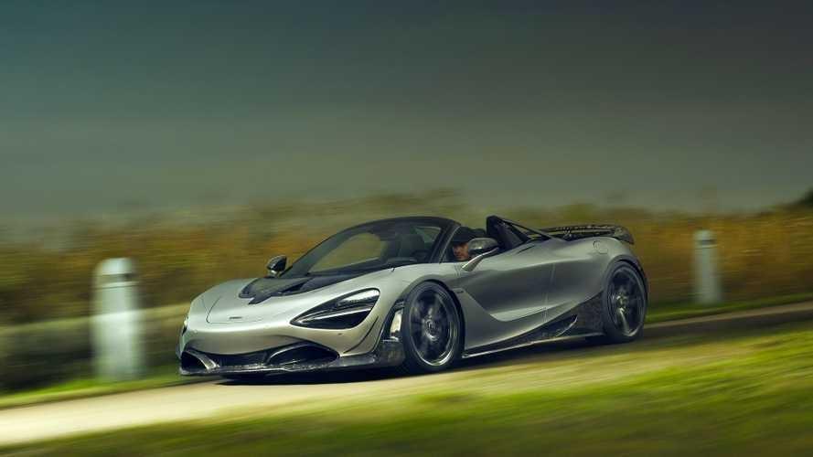 Sieu xe McLaren 720S Spider the thao hon voi ban do carbon hinh anh 1