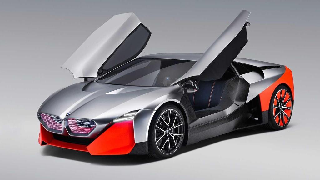 Concept BMW Vision M dep hoan hao,  lieu co i8 trong tuong lai? anh 3