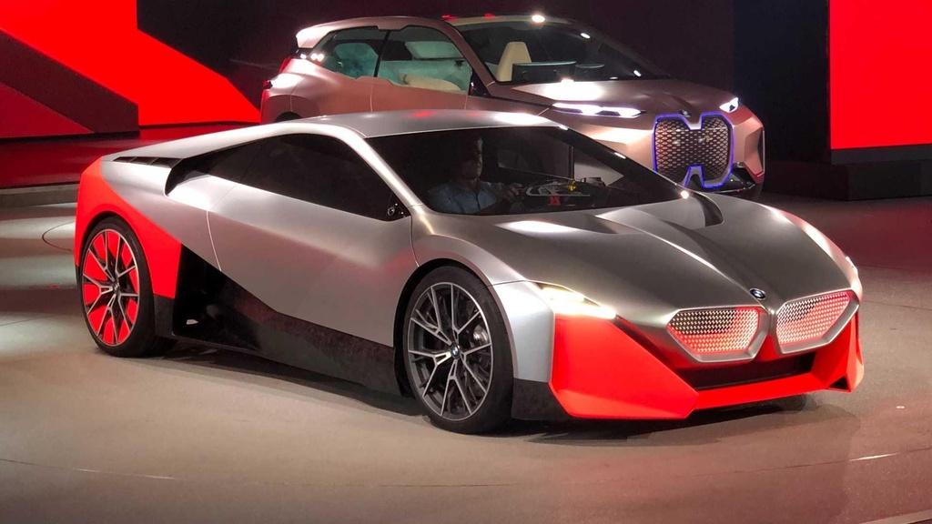 Concept BMW Vision M dep hoan hao,  lieu co i8 trong tuong lai? anh 1