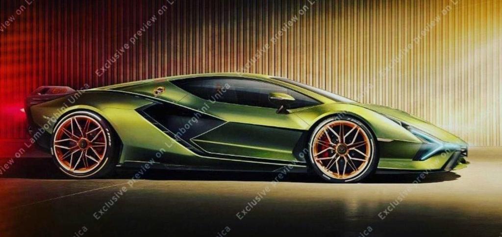 Ro ri thiet ke 'sieu bo' moi cua Lamborghini hinh anh 1