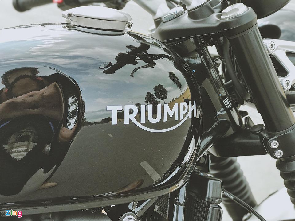 Triumph Speed Twin 2019 - moto co dien ma hien dai, gia gan 600 trieu hinh anh 3