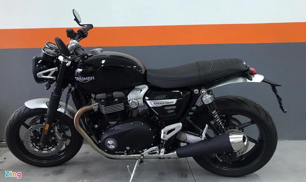 Triumph Speed Twin 2019 - moto co dien ma hien dai, gia gan 600 trieu hinh anh 11