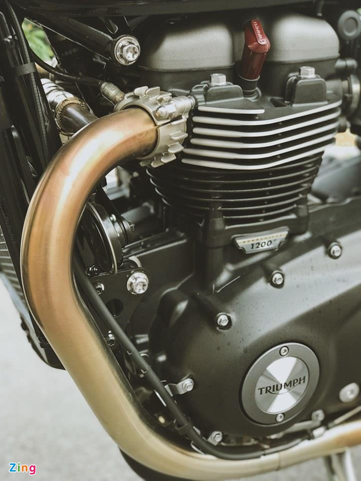 Triumph Speed Twin 2019 - moto co dien ma hien dai, gia gan 600 trieu hinh anh 9