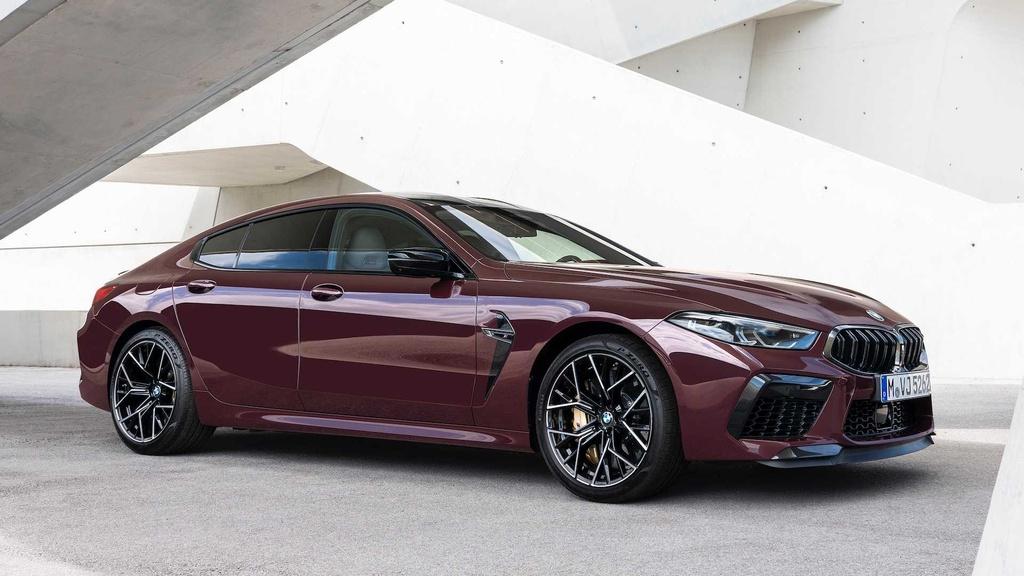 BMW M8 Gran Coupe - mau sedan 4 cua manh nhu sieu xe hinh anh 11