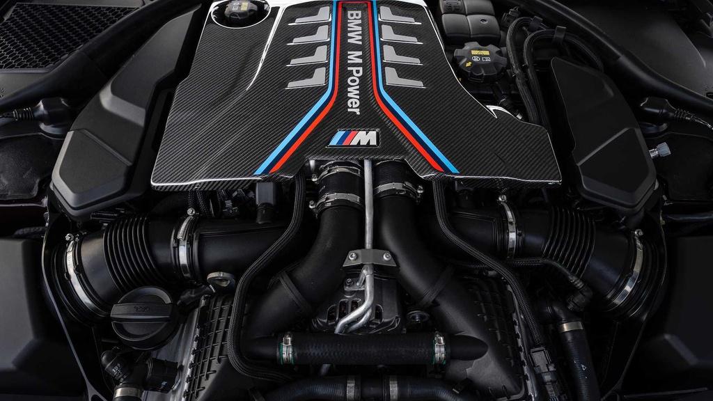 BMW M8 Gran Coupe - mau sedan 4 cua manh nhu sieu xe hinh anh 4
