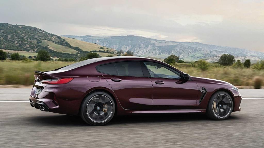 BMW M8 Gran Coupe - mau sedan 4 cua manh nhu sieu xe hinh anh 10