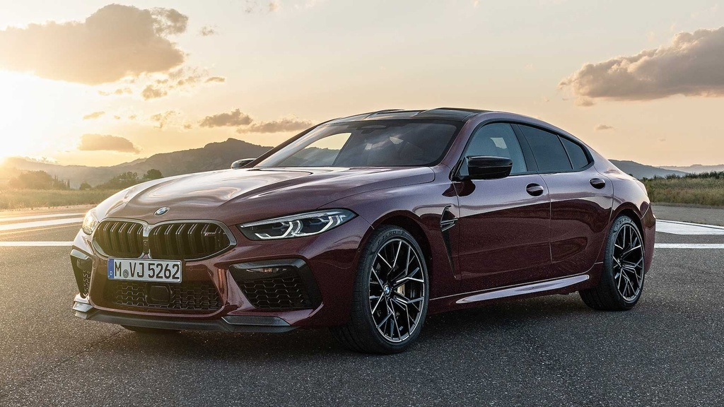 BMW M8 Gran Coupe - mau sedan 4 cua manh nhu sieu xe hinh anh 1