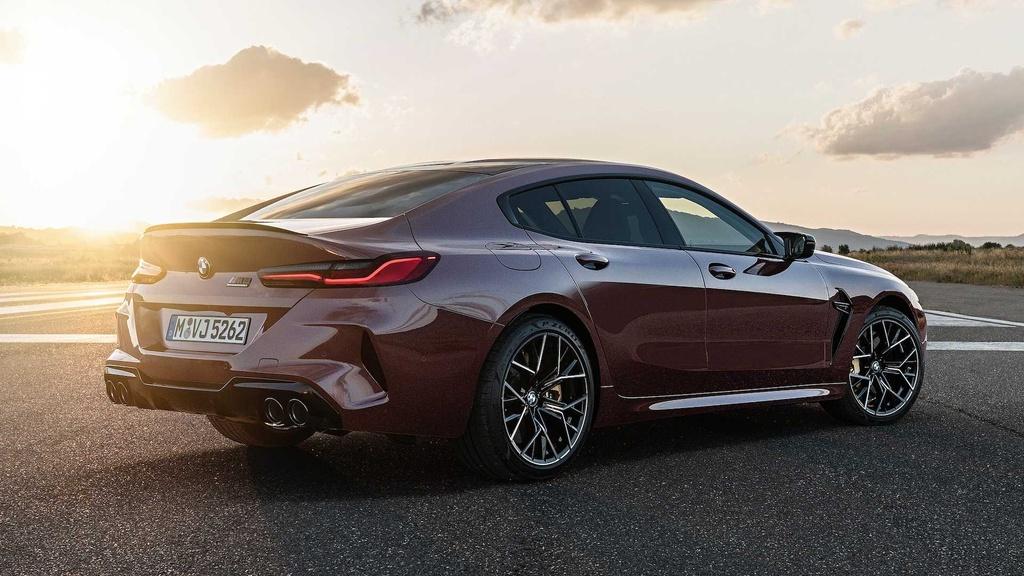 BMW M8 Gran Coupe - mau sedan 4 cua manh nhu sieu xe hinh anh 2