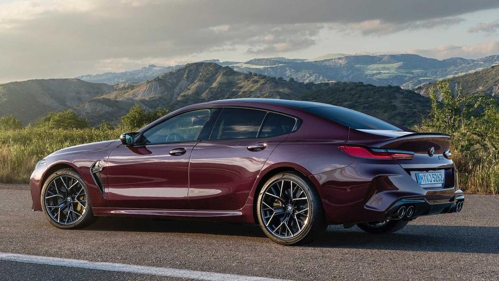 BMW M8 Gran Coupe - mau sedan 4 cua manh nhu sieu xe hinh anh 3