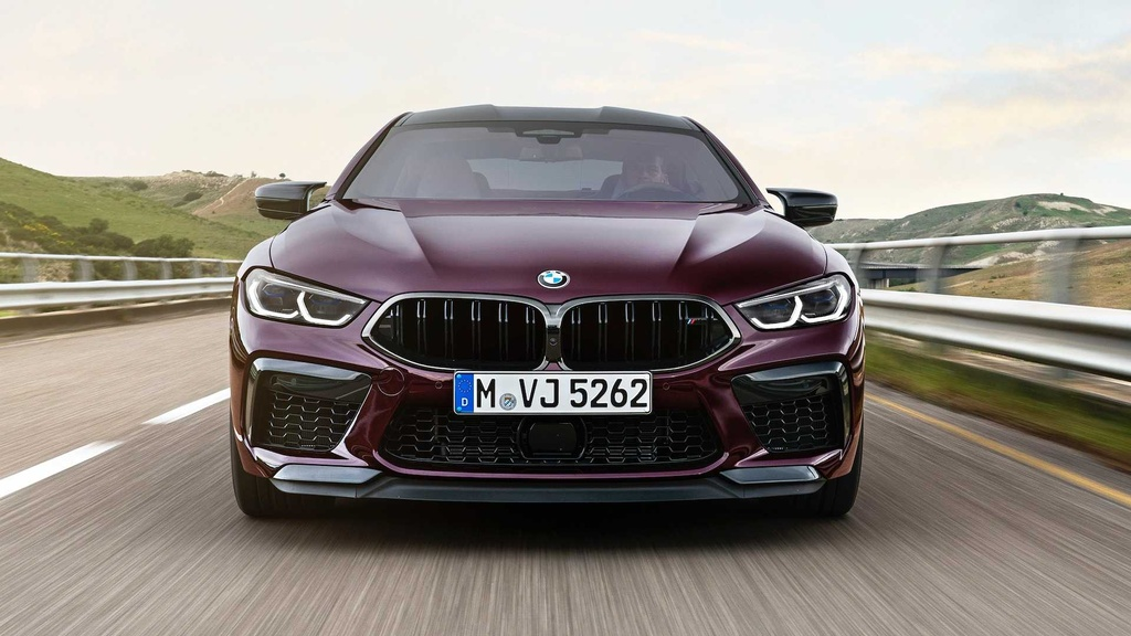 BMW M8 Gran Coupe - mau sedan 4 cua manh nhu sieu xe hinh anh 5