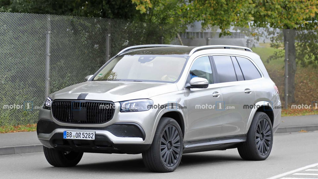 Mercedes-Maybach GLS chinh thuc lo dien hinh anh 1