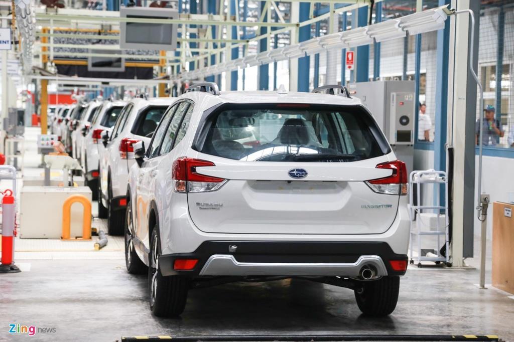 Gia chenh 100 trieu, Mazda CX-8 co gi noi bat hon Subaru Forester? hinh anh 6