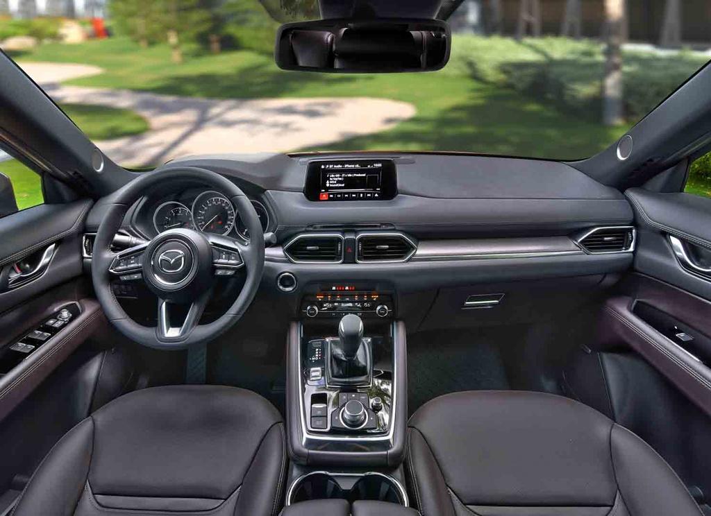 Gia chenh 100 trieu, Mazda CX-8 co gi noi bat hon Subaru Forester? hinh anh 9