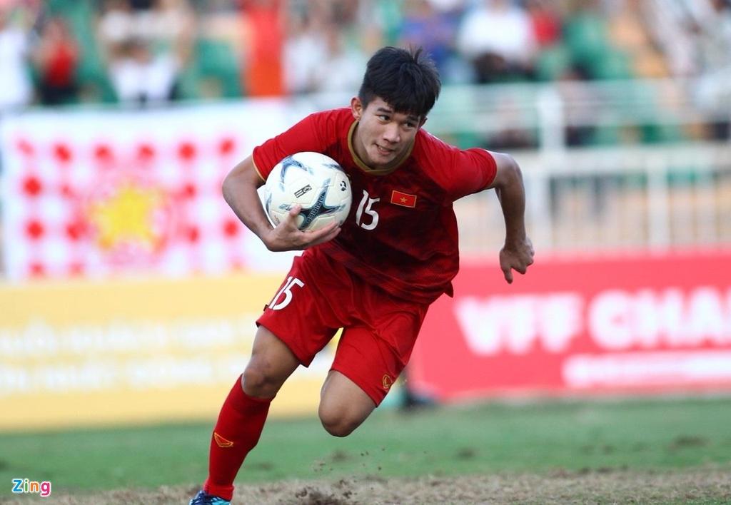 U18 Viet Nam vs Campuchia anh 1