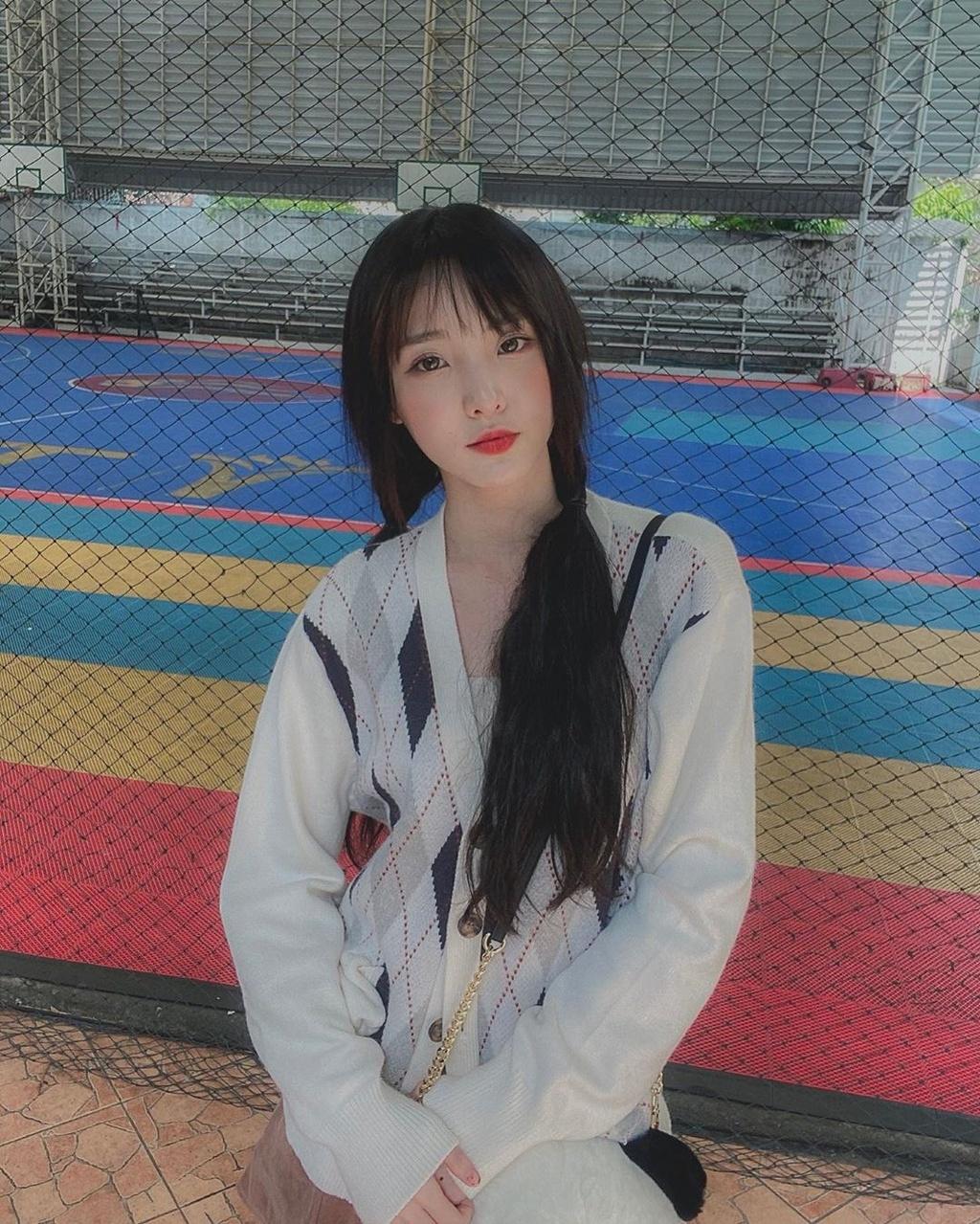 Hot girl 'Lat mat 3' cua Ly Hai tham gia show song con ban Trung hinh anh 4 72399926_360945221337765_387202567735975492_n.jpg