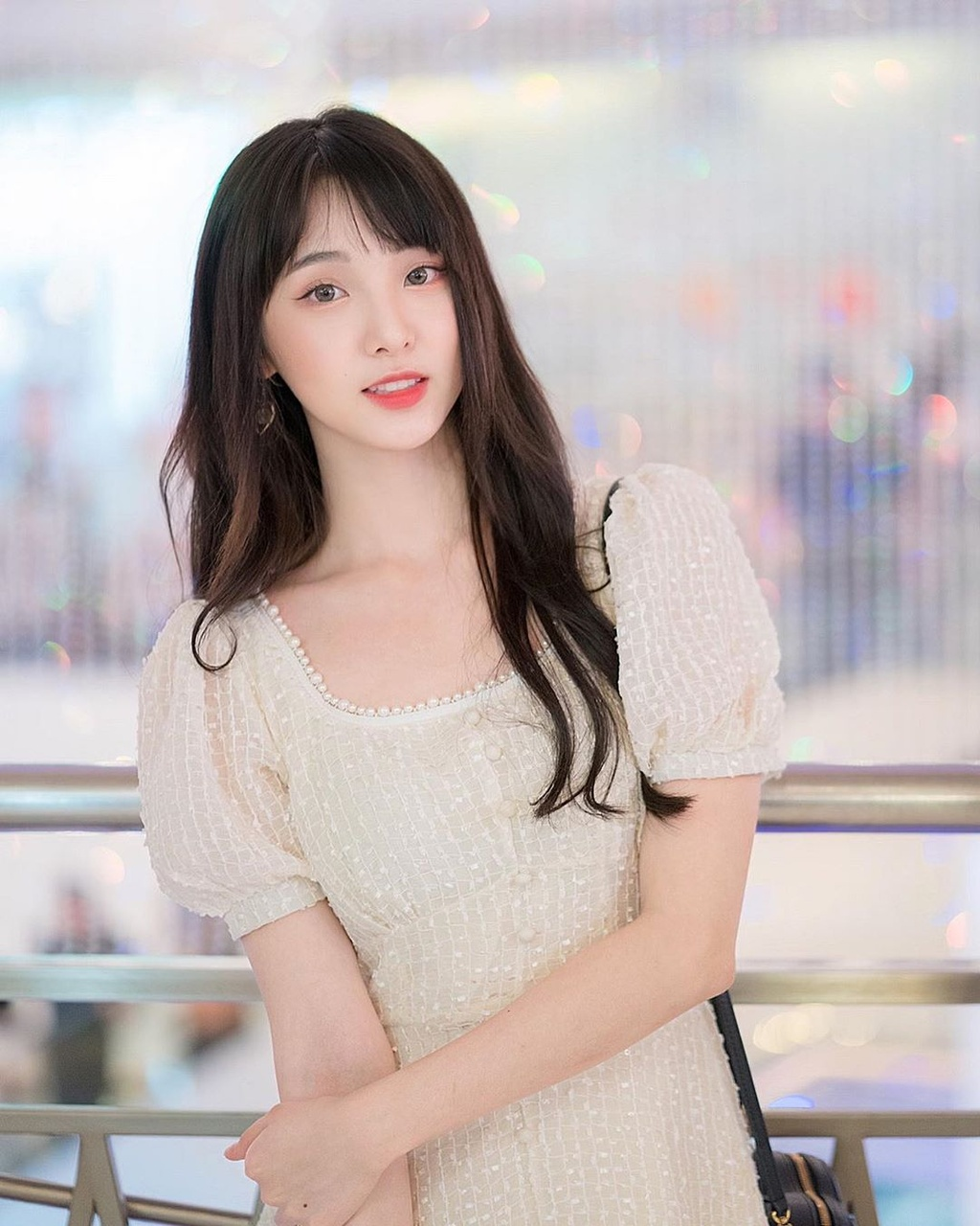 Hot girl 'Lat mat 3' cua Ly Hai tham gia show song con ban Trung hinh anh 9 83717783_1069578396735130_6460477066559533285_n.jpg