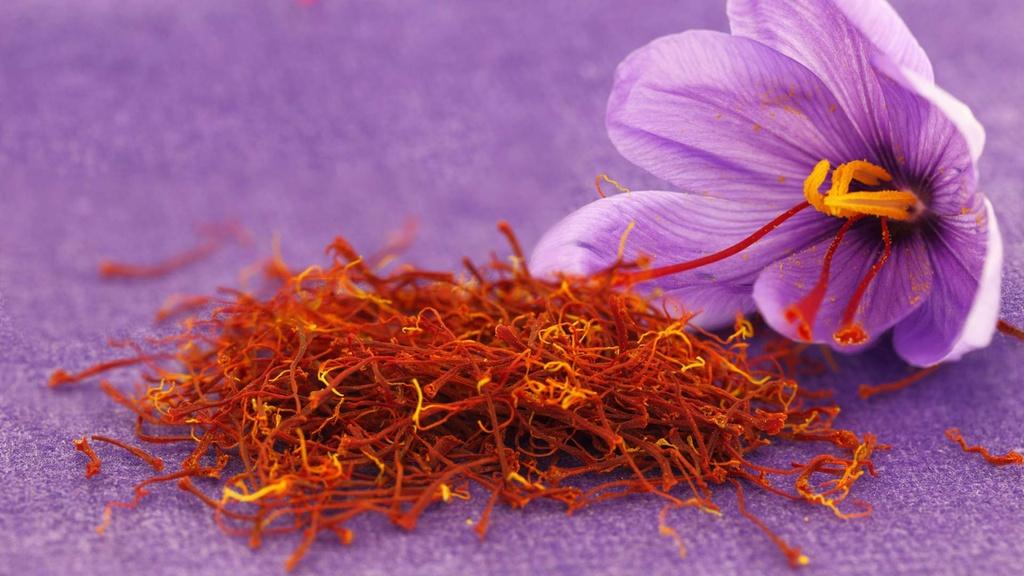 nhuy hoa nghe tay saffron trong am thuc Iran anh 1