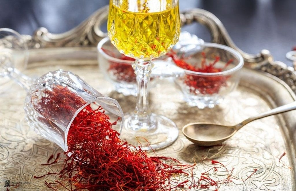 nhuy hoa nghe tay saffron trong am thuc Iran anh 5