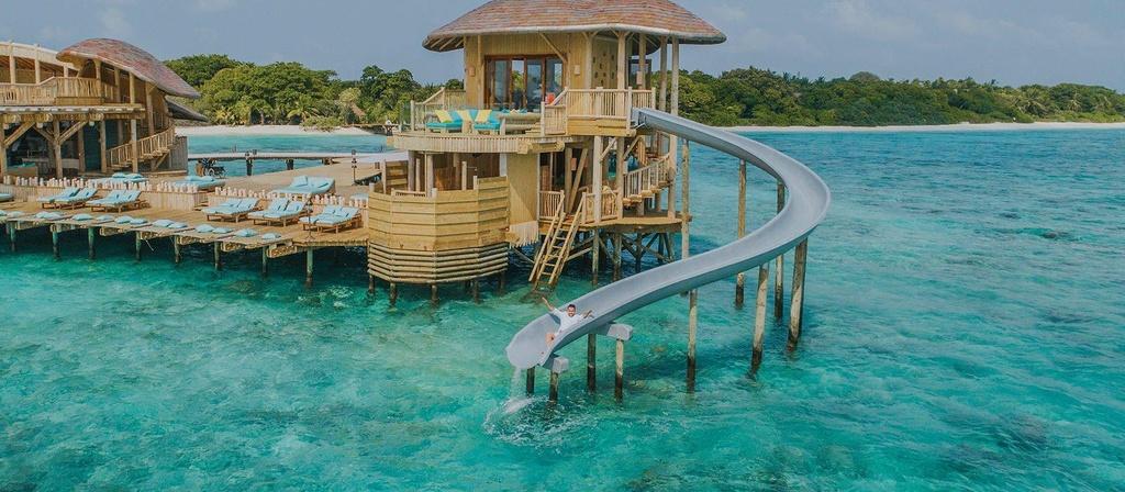 Khu biệt thự 9 phòng ngủ sang chảnh nổi tiếng Maldives - Ảnh 2