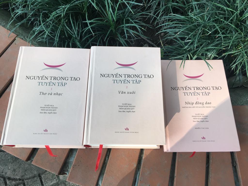 Nguyen Trong Tao: Nhung gi gui lai coi tran hinh anh 1 Tuyen_tap_Nguyen_Trong_Tao_1.jpg