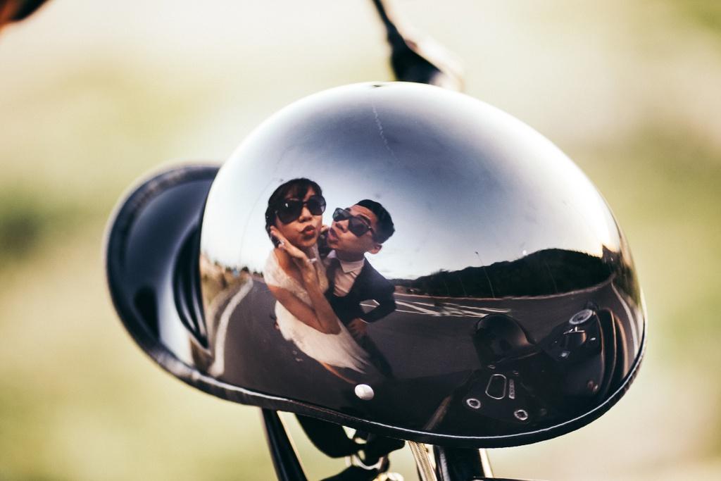 Bo anh cuoi ben xe moto anh 9