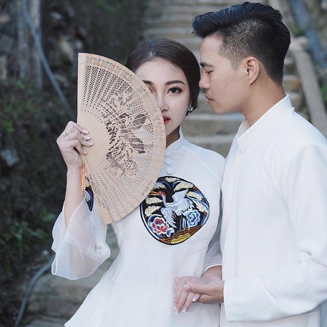 Co dau Nam Dinh: Sau dam cuoi, ban be moi biet la tieu thu nha giau hinh anh 1