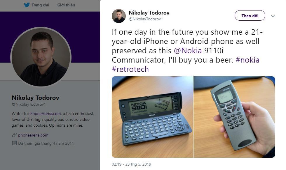 Trai nghiem cong nghe 'tuong lai' cua 21 nam truoc tren Nokia 9110i hinh anh 3