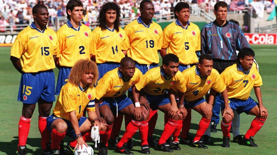 World Cup 1994,  Andres Escobar,  am sat anh 3