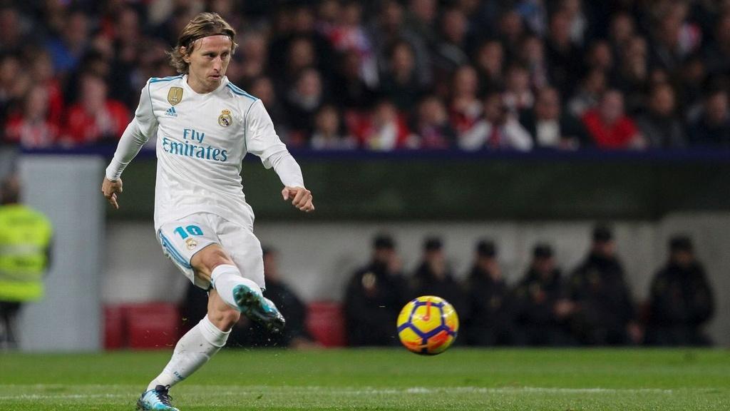 Real Madrid vs Atletico: Tran chia tay Luka Modric? hinh anh 1