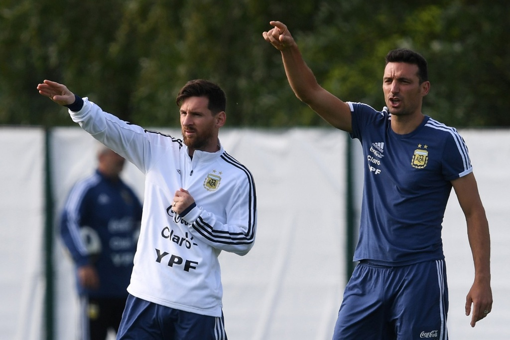 DT Argentina luy Messi den bao gio? hinh anh 1