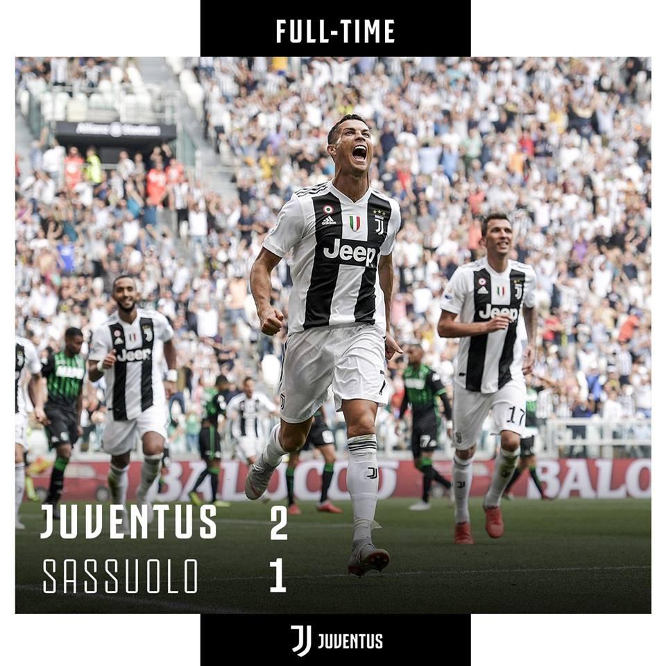 Juventus thang Sassuolo 2-1: Chao mung 'ke huy diet' Ronaldo hinh anh 1