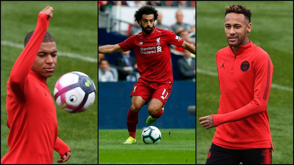 Liverpool vs PSG: Salah, Neymar, Mbappe va cuoc dau ke thua ngai vang hinh anh 1