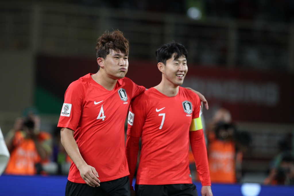Son Heung-min,  asian cup,  Han Quoc vs Iraq anh 3