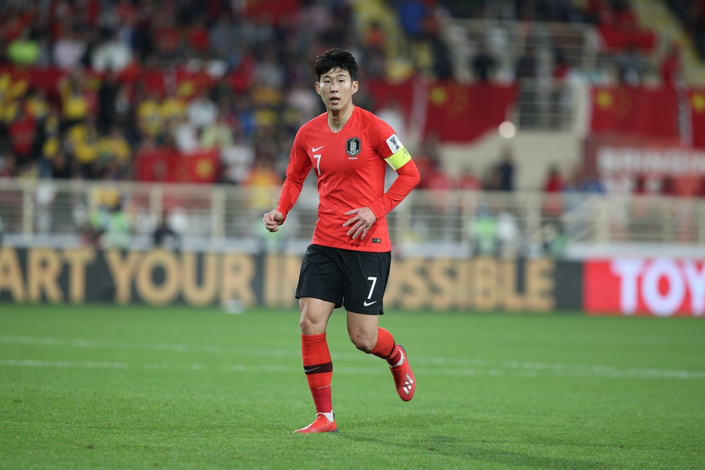 Son Heung-min,  asian cup,  Han Quoc vs Iraq anh 1