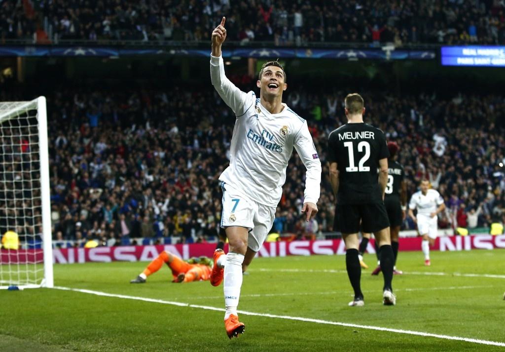 Ronaldo,  Juventus vs Atletico anh 2