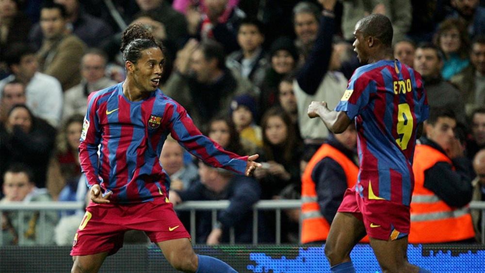 Ronaldinho va hoi uc cung Barca huy diet Real Madrid hinh anh 2