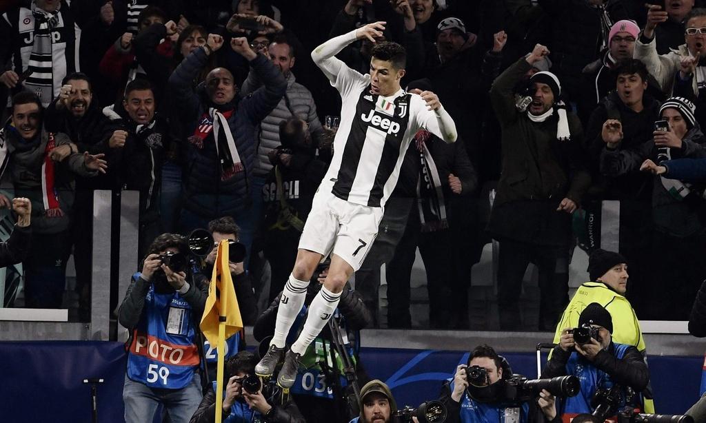 Juventus,  Ronaldo,  Juventus vs Atletico anh 2