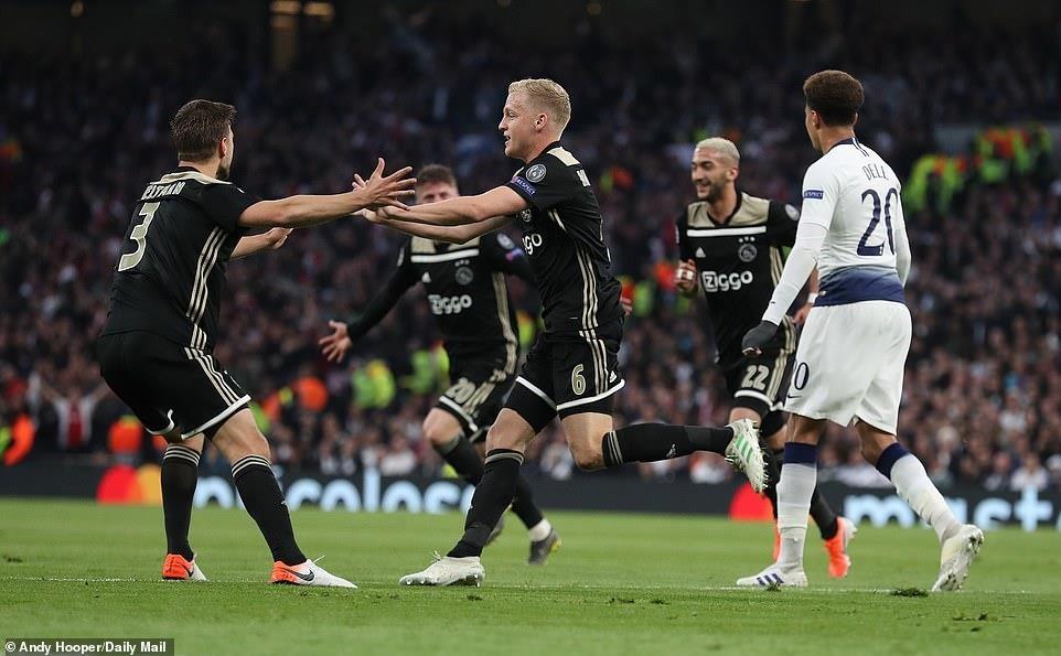 Ajax chinh phuc Tottenham bang su don gian hinh anh 1