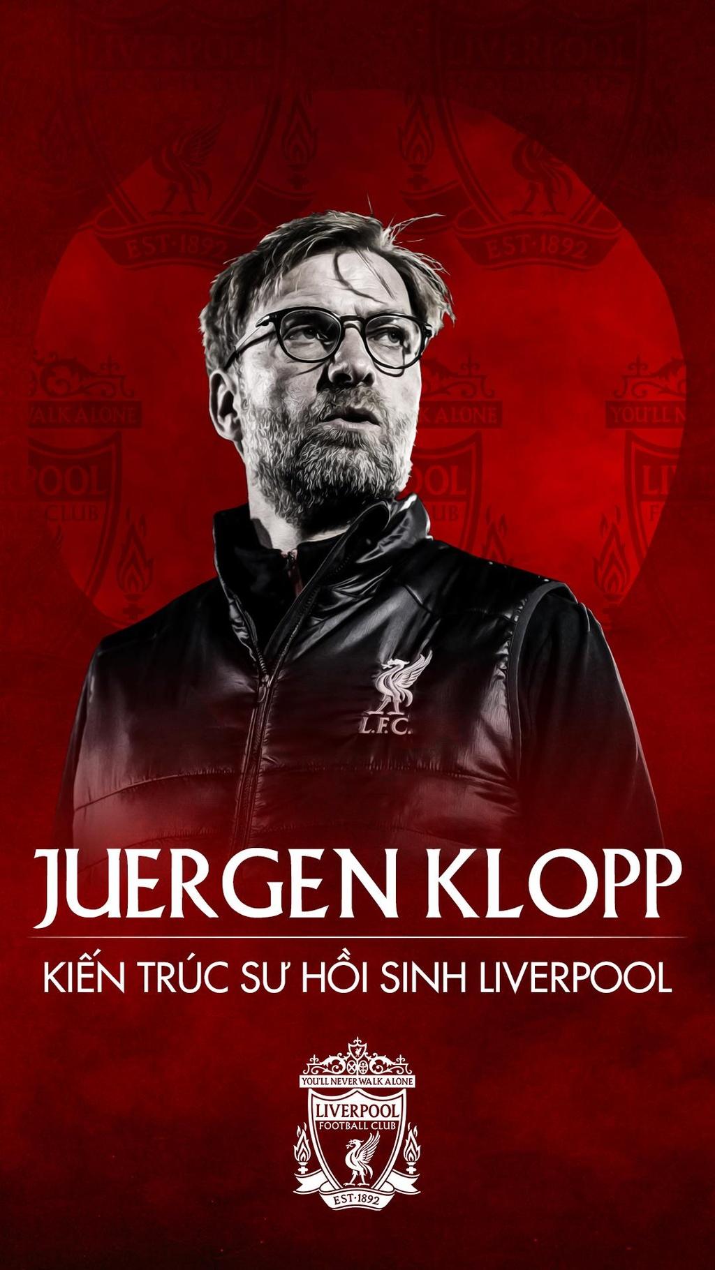 Juergen Klopp - kien truc su hoi sinh Liverpool hinh anh 1